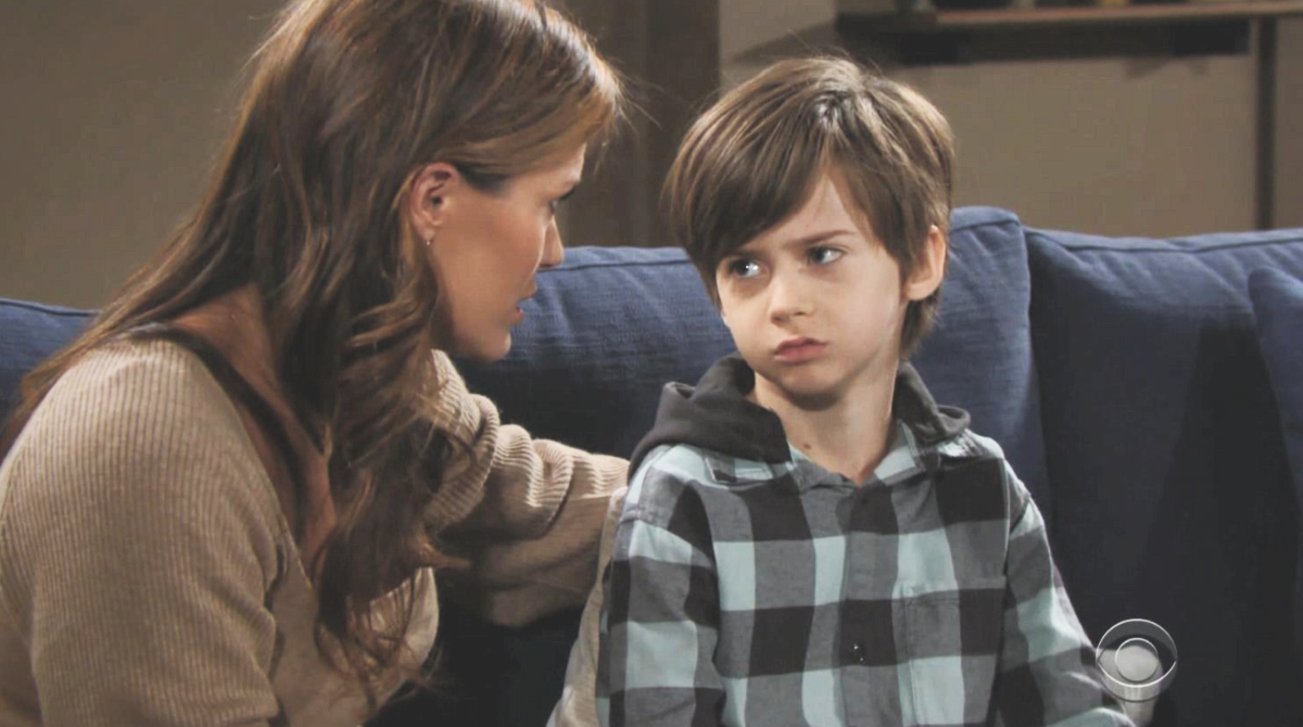 The Young And The Restless Spoilers Chelsea Needs More Help With Connor Adam Is The Only Answer Celebrating The Soaps